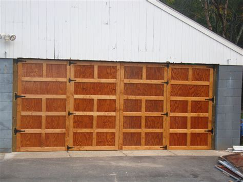 Homemade Garage Doors Plans