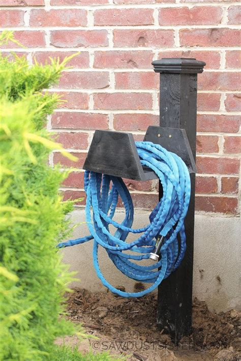 Homemade Garden Hose Holder Pinterest Recipes
