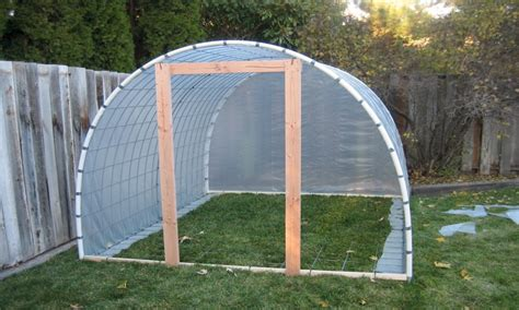 Homemade Greenhouse Plans Pvc