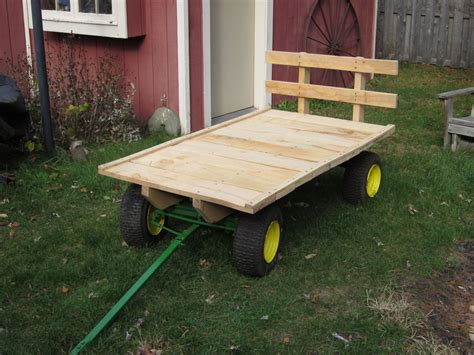Homemade Hay Wagon Plans