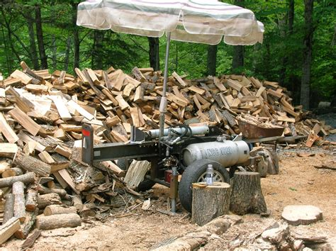 Homemade Hydraulic Wood Splitter