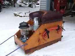 Homemade Ice Fishing Box Plans