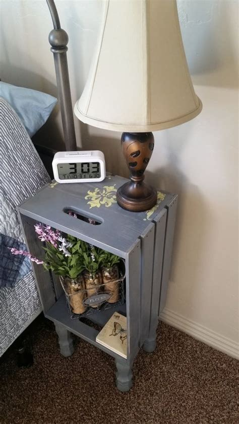 Homemade Ideas For Bedside Tables
