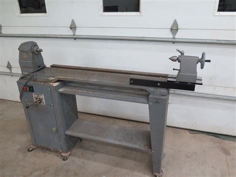 Homemade Lathe Bed