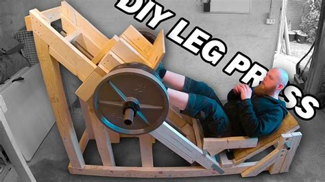 Homemade Leg Press Plans