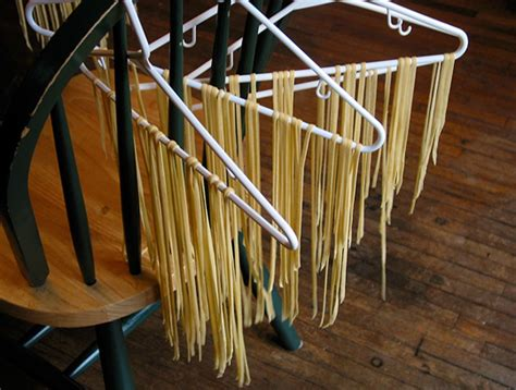 Homemade Noodle Drying Rack