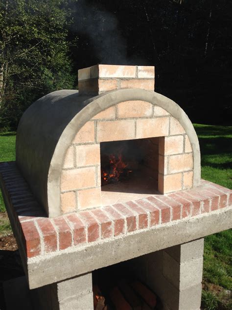 Homemade Outdoor Wood Fired Pizza Oven