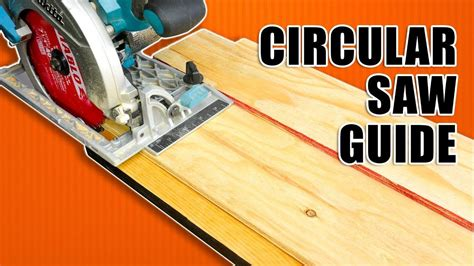 Homemade Panel Saw Tracks
