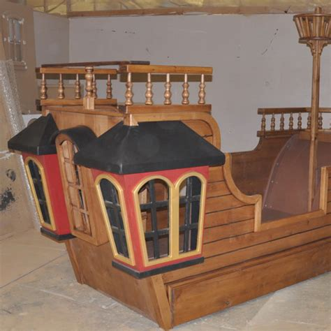 Homemade Pirate Ship Bed Plans