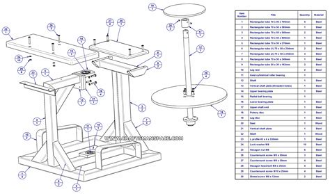 Homemade Potters Wheel Plans