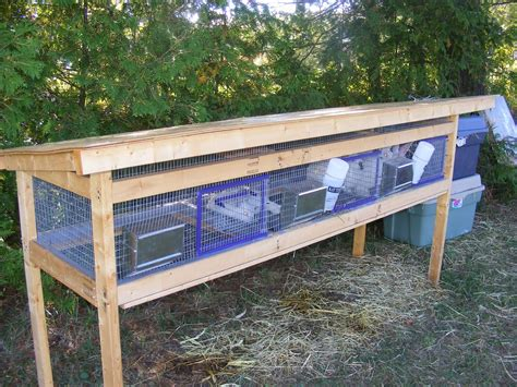 Homemade Rabbit Cage Designs