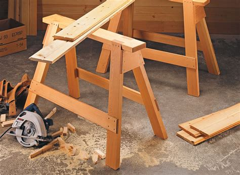 Homemade Sawhorse Plans Video