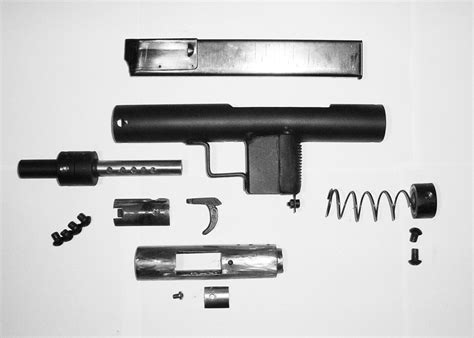 Homemade Submachine Gun Plans