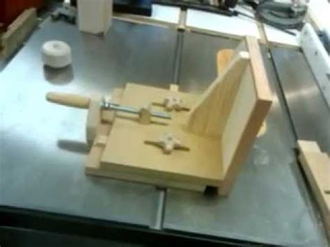 Homemade Tenon Jig Plans