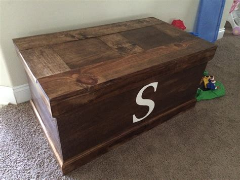 Homemade Toy Chest Plans