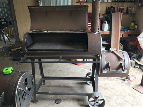 Homemade Trailer Grill Plans