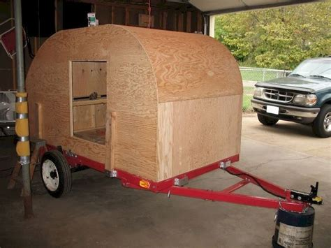 Homemade Travel Trailer Camper Plans