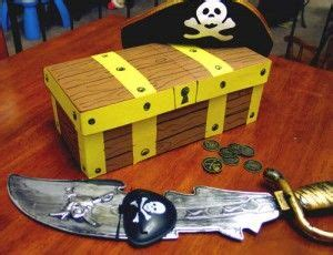 Homemade Treasure Chest With Shoebox Central