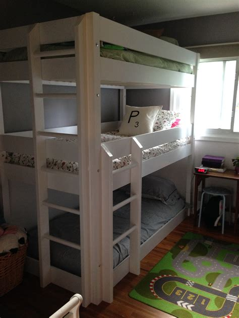 Homemade Triple Bunk Bed Plans