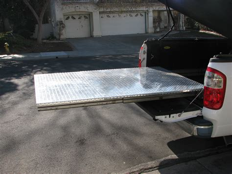 Homemade Truck Bed Slide Plans