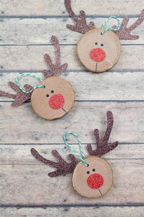 Homemade Wood Christmas Decorations