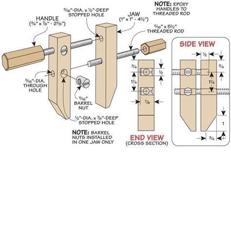 Homemade Wood Clamps Plans