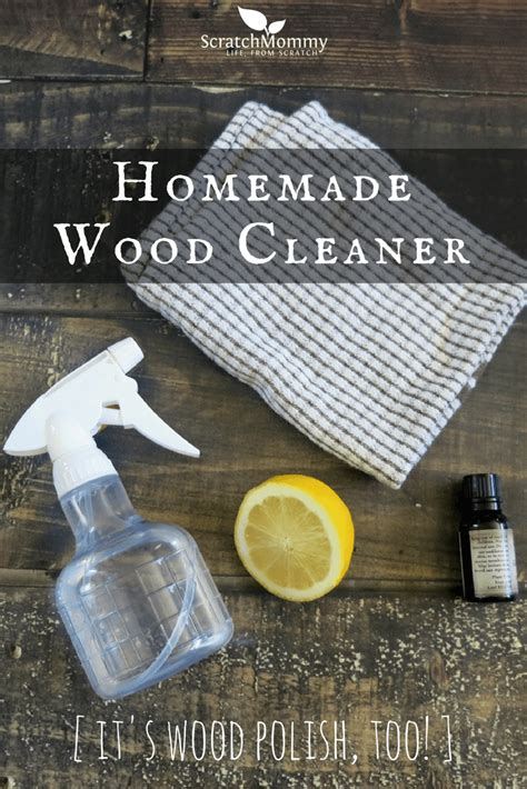 Homemade Wood Cleaner And Polish