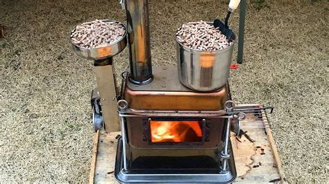 Homemade Wood Pellet Stove
