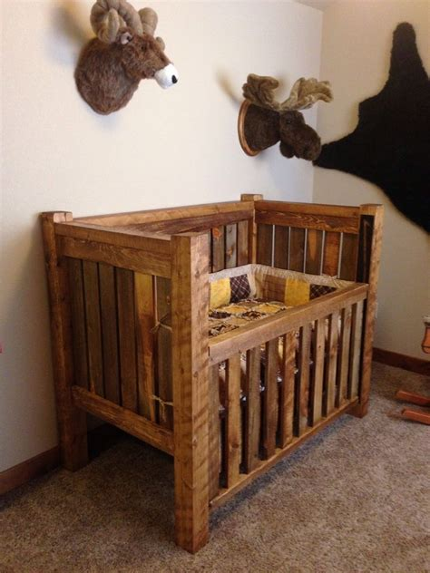 Homemade Wooden Baby Cribs