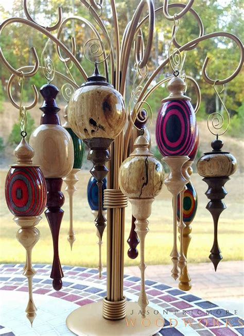 Homemade Wooden Christmas Tree Decorations