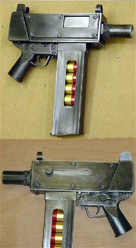Homemade 12 Gauge Fully Automatic Shotgun Pistol Real Or Not And Jts 12 Gauge Semiautomatic Ak Shotgun Extended Magazine