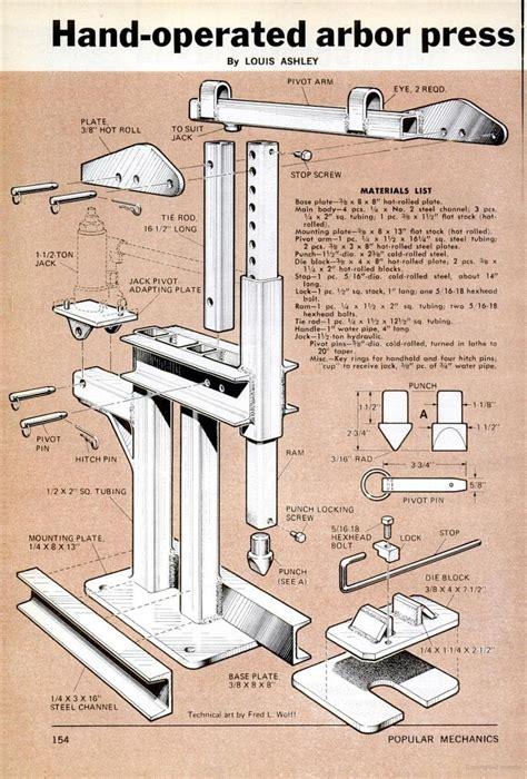 Homemade-Arbor-Press-Plans