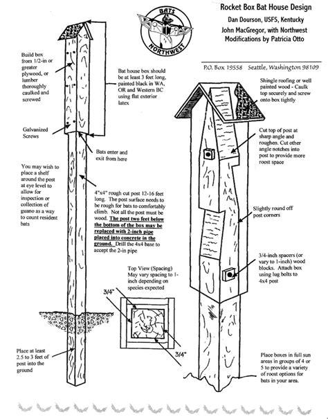 Homemade-Bat-House-Plans