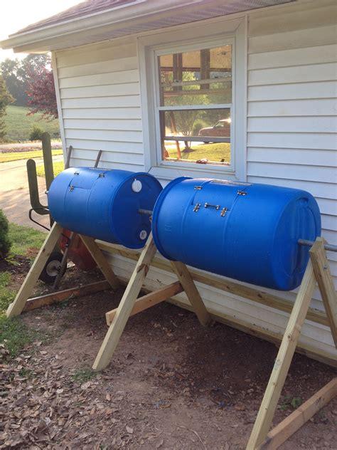 Homemade-Compost-Barrel-Plans