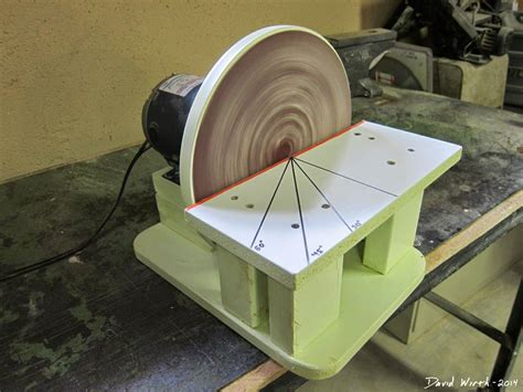 Homemade-Disc-Sander-Plans