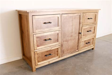 Homemade-Dresser-Plans