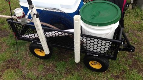 Homemade-Fishing-Cart