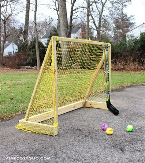 Homemade-Hockey-Net