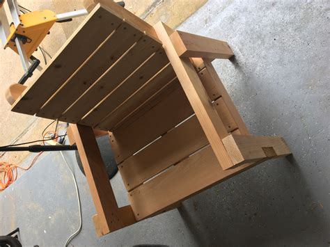 Homemade-Outdoor-Chair-Plans