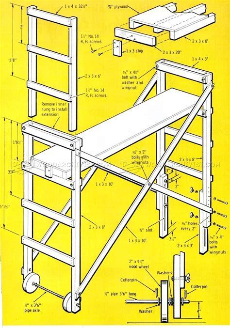 Homemade-Scaffolding-Plans