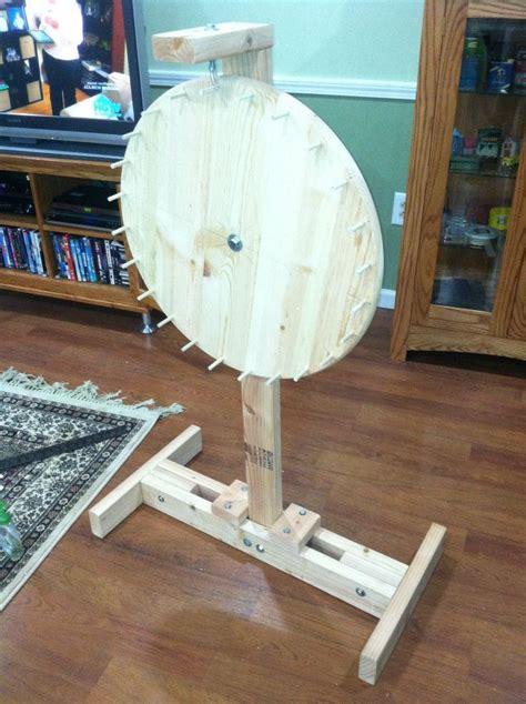 Homemade-Spinning-Wheel-Plans
