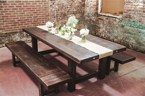 Homemade-Wooden-Farm-Tables