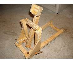 Best Homemade catapult designs