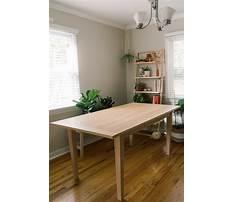 Best Homemade dinner table.aspx
