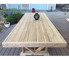 Best Homemade garden table.aspx