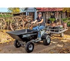 Best Homemade power wheelbarrow