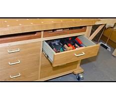 Best Homemade workshop drawers