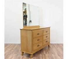 Best Honey oak dresser with mirror