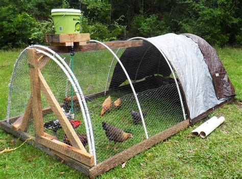 Hoop Chicken Tractor Pvc Plans