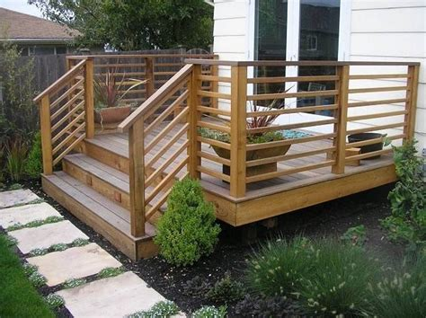 Horizontal Deck Railing Plans